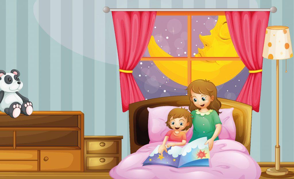 حواديت اطفال قبل النوم ومساعدة الطفل على النوم سريعًا