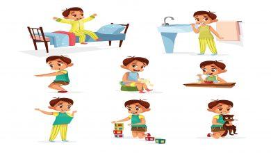 صورة كيف تصنعين جدول روتين يومي للاطفال في ستة خطوات